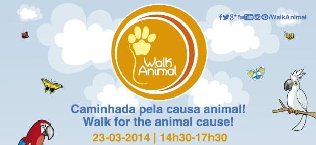 Gaia recebe caminhada pela proteção dos animais selvagens