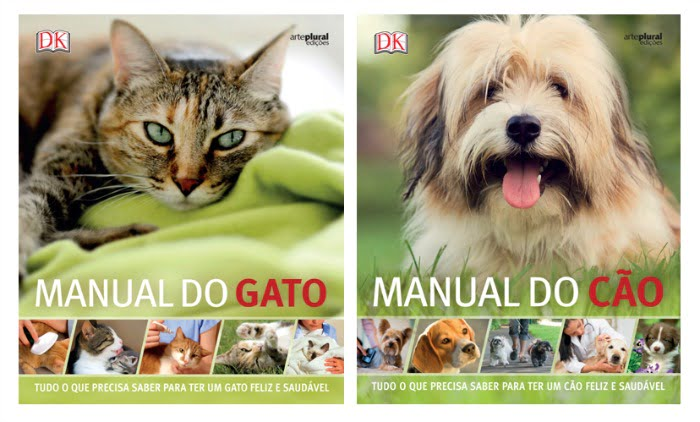 Arte Plural Edições lança Manual do Gato e Manual do Cão