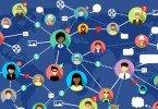 redes sociais - ilustração