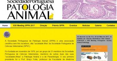 Sociedade Portuguesa de Patologia Animal - site - Veterinária Atual