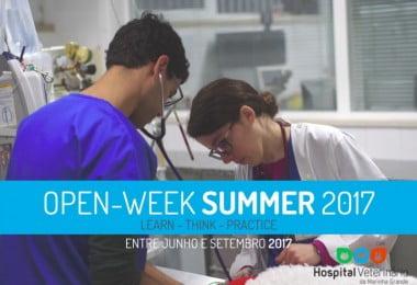 Open Week 2017 - Hospital Veterinário da Marinha Grande