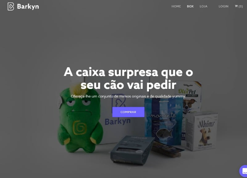 Moda das 'caixas de mimos' para animais chega a Portugal
