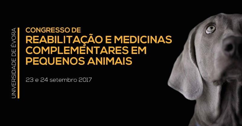 Congresso em Reabilitação e Medicinas Complementares em Equinos e Pequenos Animais em setembro