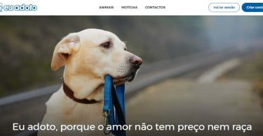 Eu Adoto: existe um novo site para adotar animais