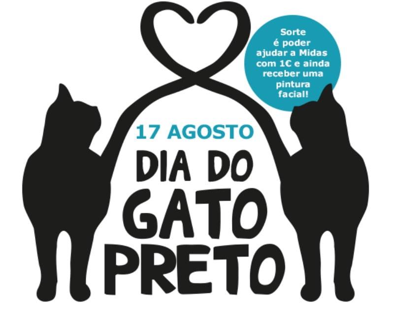 Hoje é Dia do Gato Preto