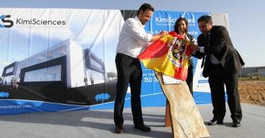 KimiSciences inaugura unidade em Vendas Novas