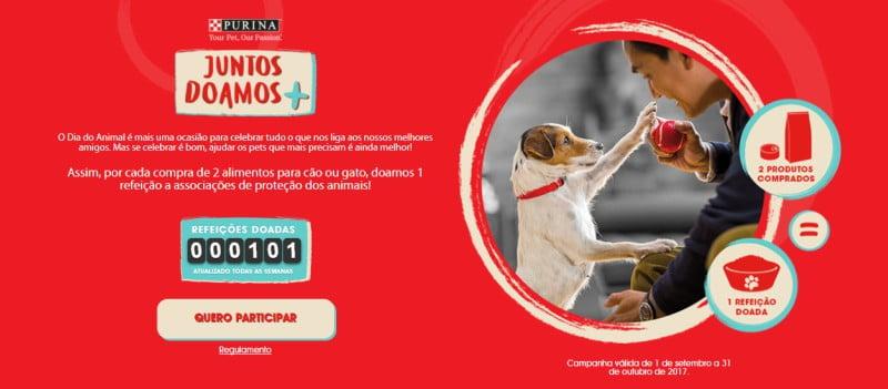 Purina lança nova campanha de responsabilidade social