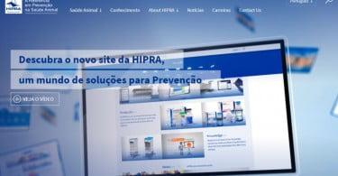 Hipra lança novo site