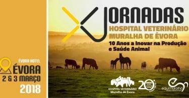 10ª edição das Jornadas do Hospital Veterinário Muralha de Évora é já em março