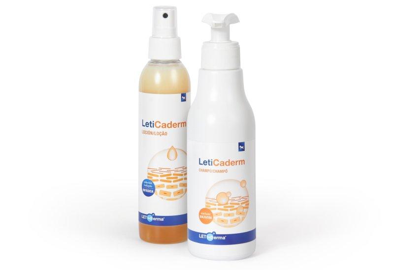 Laboratórios Leti lançam gama para o cuidado da pele atópica dos cães