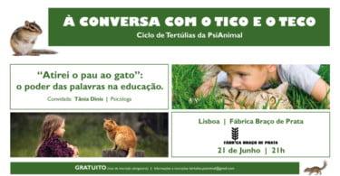 Psi Animal organiza ciclo de tertúlias sobre educação animal