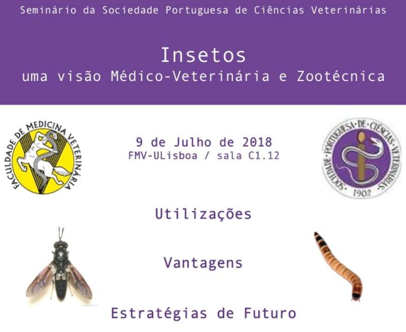Sociedade Portuguesa de Ciências Veterinárias promove seminário sobre insetos