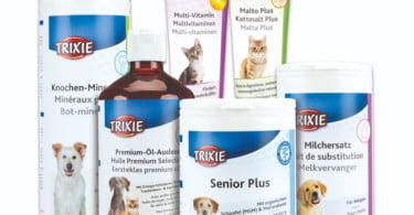 Trixie lança nova gama de suplementos alimentares para animais de companhia