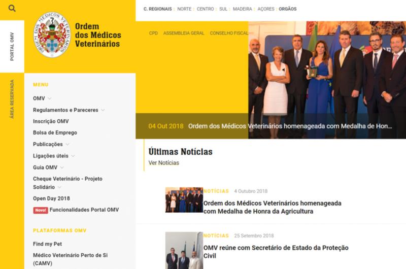 OMV lança novo site oficial