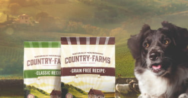 Há uma nova marca de alimentação natural para cães
