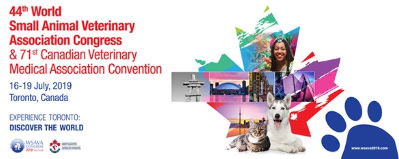 Congresso Mundial da WSAVA realiza-se em julho