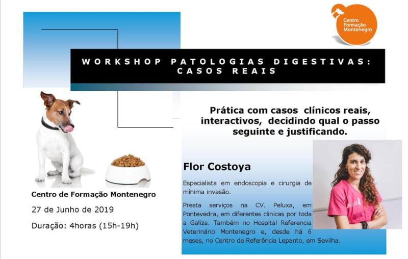 Centro de Formação Montenegro promove workshop sobre patologias digestivas