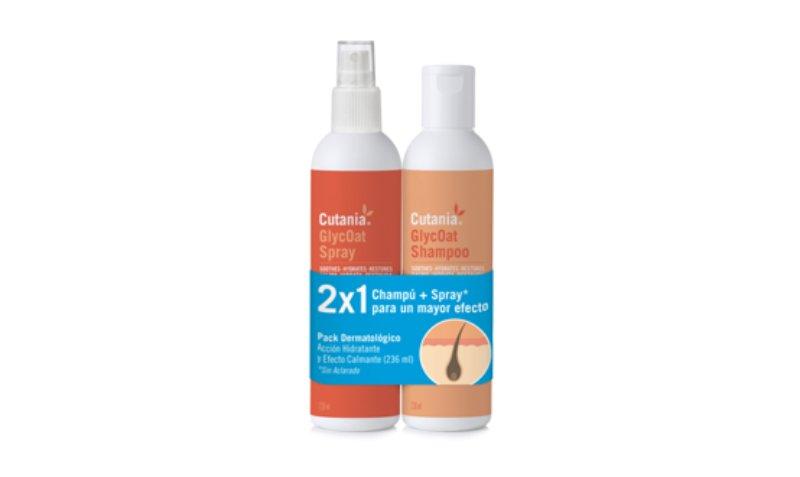 Vetnova lança pack 'Cutania GlycOat Shampoo e Spray 2x1'