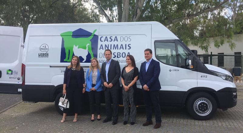 Lisboa já tem ambulância para socorro animal