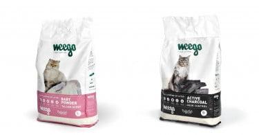 Portuguesa Weego lança gama de areia para gatos