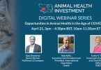 Animal Health Investment anuncia série de webinars