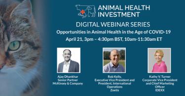 Animal Health Investment anuncia série de webinars