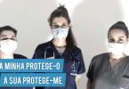 Hospital Veterinário de Santa Marinha distribui máscaras de tecido a clientes