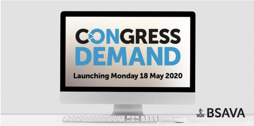 BSAVA anuncia 'Congress on Demand'