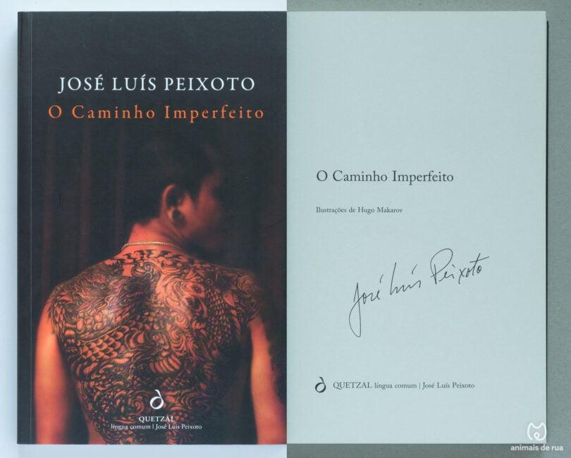 Livro Jose Luis Peixoto O Caminho Imperfeito