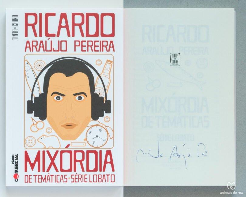 Livro Ricardo Araujo Pereira Mixordia