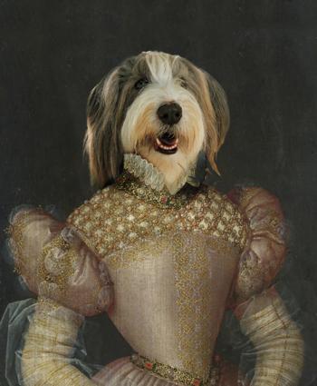Já pensou ver o seu animal de estimação numa obra de arte?