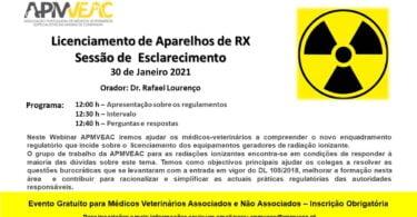 WEBINAR Licenciamento de Aparelhos de RX Sessão de Esclarecimento e