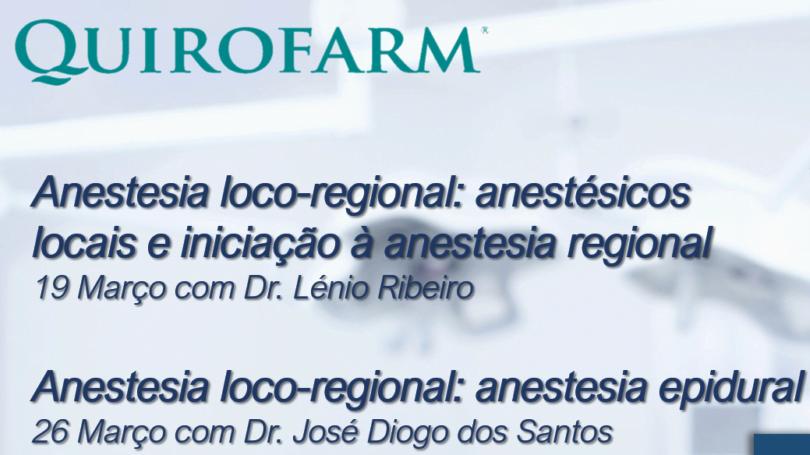 webinars anestesia