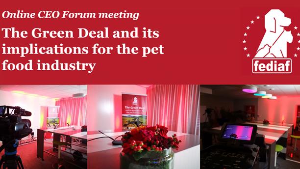 Pacto ecológico europeu debatido pela indústria alimentar para animais de companhia
