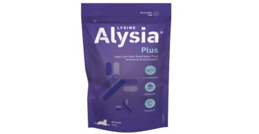 A Vetnova acaba de lançar Alysia Plus, uma fórmula para o suporte dos sistemas respiratório e imunitário dos gatos.