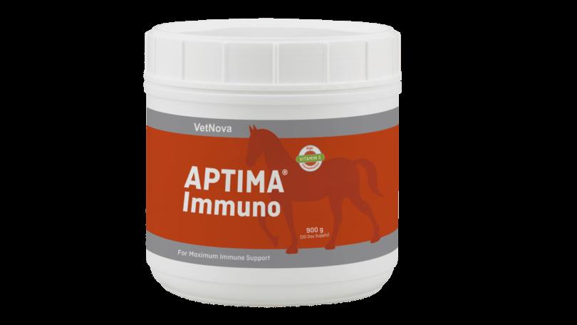 A VetNova expandiu a sua linha com o APTIMA Immuno, desenhada para fortalecer o sistema imunitário dos equinos.