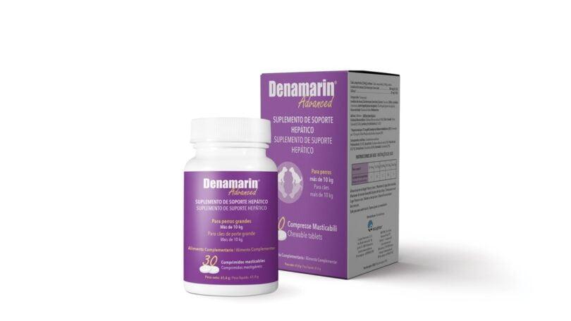 A farmacêutica Ecuphar lançou no mercado um novo protetor hepático para cães, o Denamarin Advanced, disponível em dois formatos.