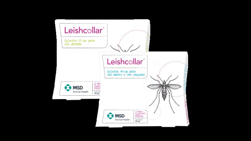 MSD Animal Health lançou a Leishcollar, uma nova coleira antiparasitária para a prevenção da picada do Phlebotomus perniciosus (flebótomo).