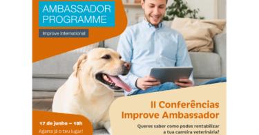 A segunda edição das Conferências Improve Ambassador vai realizar-se no dia 17 de junho, às 18h e conta como orador Ricardo Almeida.