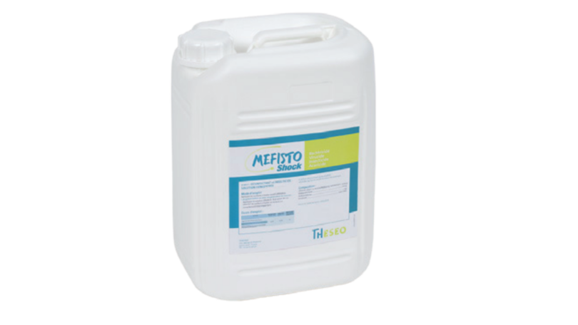 A Vetlima lançou recentemente o Mefisto Shock, um desinfetante e inseticida de uso veterinário, para desinfeção de instalações e superfícies.
