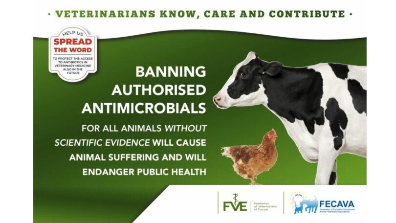 A FECAVAe a FVE juntaram-se numa campanha contra o novo regulamento de medicina veterinária que vai ser votada no Parlamento Europeu.