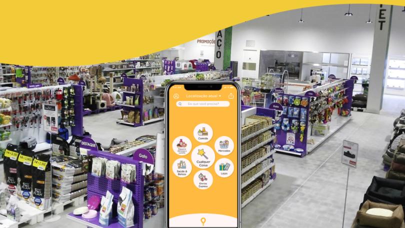 Glovo Ornimundo app animais de companhia produtos