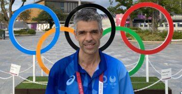 João Paulo Marques é médico veterinário e o único português que integrou a equipa de fisioterapia veterinária dos Jogos Olímpicos de Tóquio.