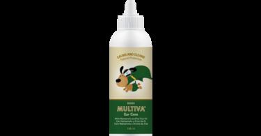 Multiva Ear Care é o novo produto do catálogo de soluções óticas da Vetnova, para o cuidado e manutenção do ouvido dos cães.