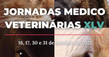 As Jornadas Médico Veterinárias XLV, promovidas pela AEFMV-UL, realizam-se a partir do dia 16 de outubro. Estão previstos quatro dias.
