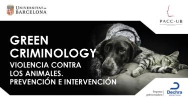 """O curso """"Green Criminology. Violencia contra los animales. Prevención e intervención"""" recebeu o patrocínio da Dechra."""